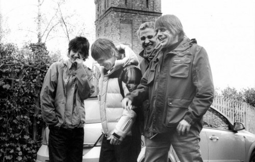 The Stone Roses - Foto via Facebook