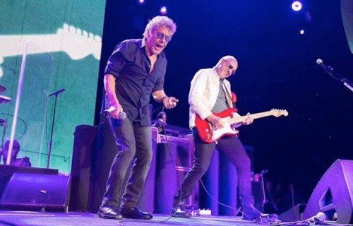 Pete Townshend e Roger Daltrey degli Who - Foto via Facebook