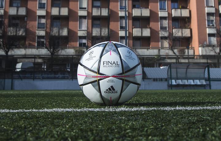 adidas è sponsor tecnico della Champions League