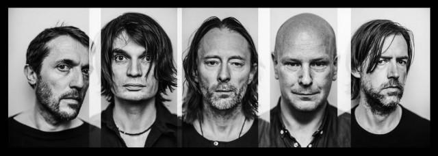 I Radiohead sono Thom Yorke, Jonny Greenwood, Ed O'Brien, Colin Greenwood e Philip Selway