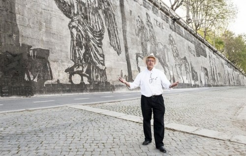 William Kentridge, Triumphs and Laments - Foto di Sebastiano Luciano