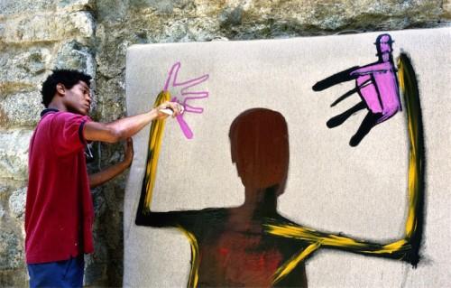 Jean Michel Basquiat è scomparso a 27 anni di overdose. Foto: Lee Jaffe