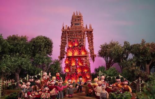 Un frame del video dei Radiohead, uscito martedì a sorpresa