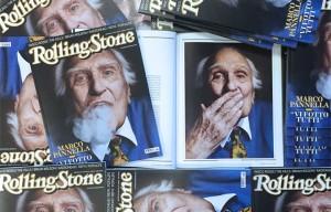 """""""Vi fotto tutti"""", Marco Pannella sulla copertina di Rolling Stone di giugno"""