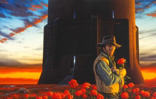 """La copertina dell'edizione italiana de """"La Torre Nera"""""""