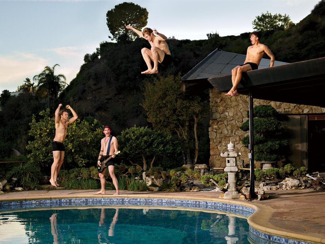5SOS - Foto Martin Schoeller per Rolling Stone