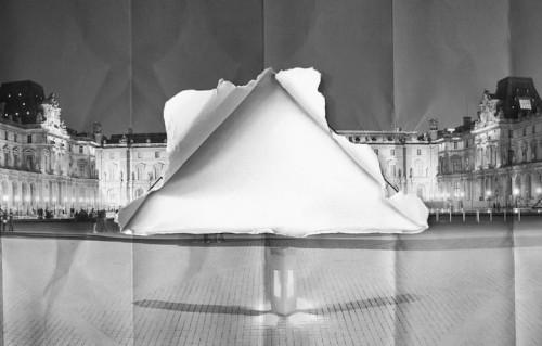 Fino al 27 giugno la piramide sarà praticamente invisibile