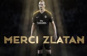 """""""Merci Zlatan"""", il video saluto del PSG a Ibra"""