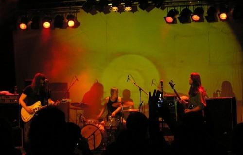 I Motorpsycho dal vivo al Studenten di Steinkjer (Norvegia) nel 2008