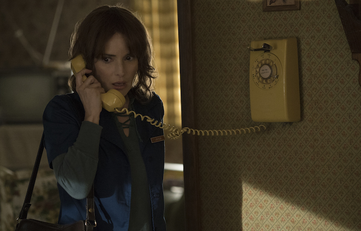 "Winona Ryder è protagonista di ""Stranger Things"""