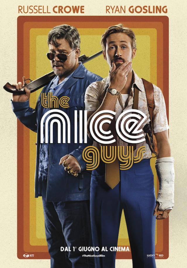 "La locandina di ""The Nice Guys"", dal 1 giugno al cinema"