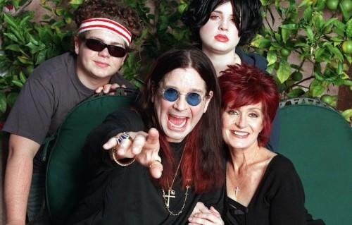 """Ozzy e Sharon Osbourne sono apparsi insieme in TV nella serie """"The Osbournes"""""""