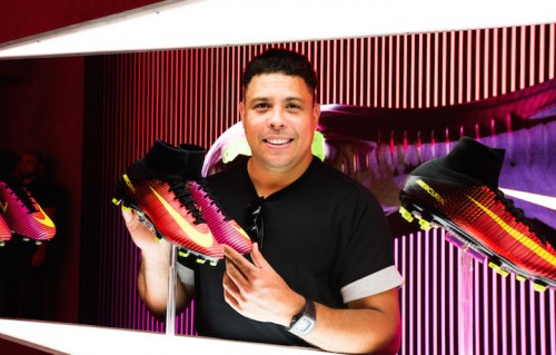 Luis Nazario de Lima è nato a Rio de Janeiro il 22 settembre 1976. Qui a Milano con le nuove Nike Mercurial