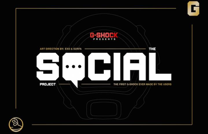 Il 25 maggio nasce il progetto social di G-SHOCK