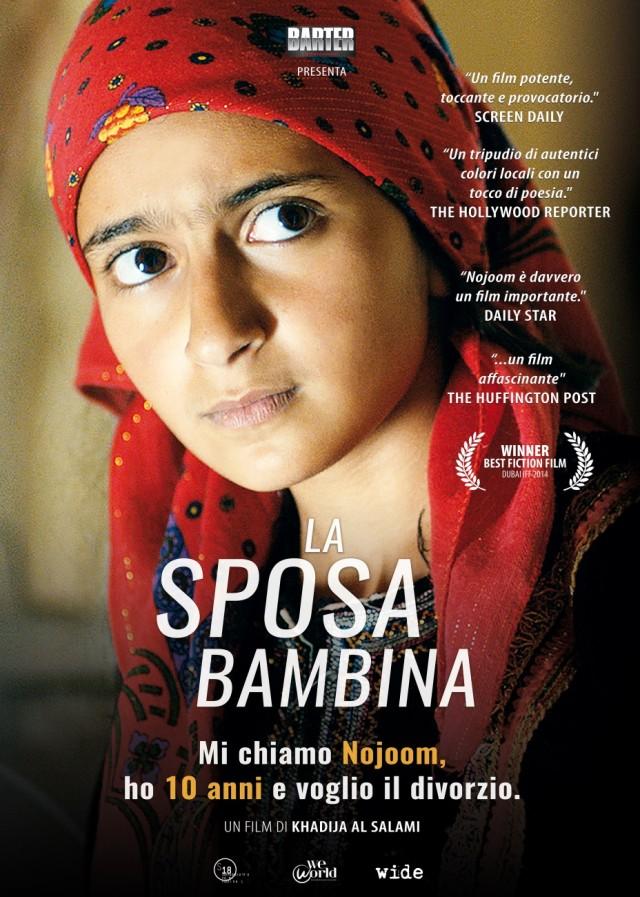 """La locandina di """"La Sposa Bambina"""", il film di Khadija Al-Salami sarà al cinema dal 12 maggio"""