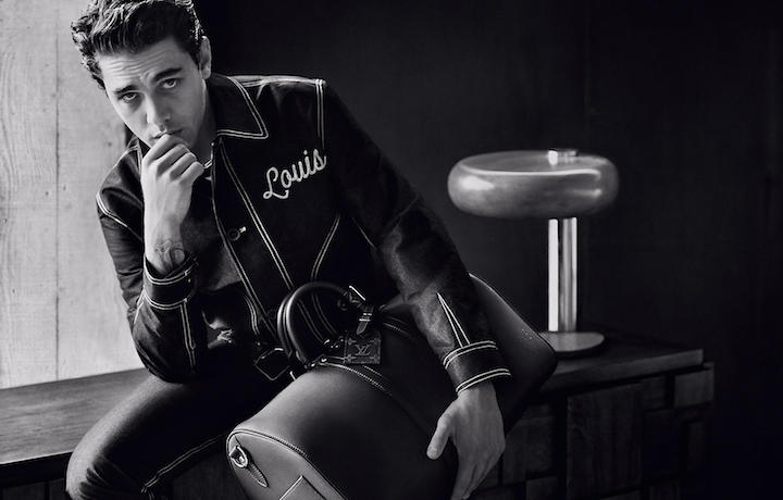 Xavier Dolan è anche protagonista della campagna spring/summer 2016 di Louis Vuitton