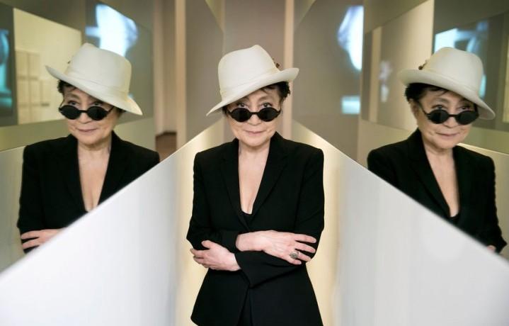 """La mostra di Yoko Ono è stata inaugurata il 9 marzo scorso a Lione. È possibile visitare """"Lumière de l'Aube"""" fino al 10 luglio"""