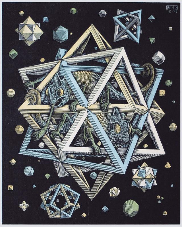 Oltre 200 opere di Escher saranno in mostra a palazzo Reale (Milano) dal 24 giugno 2016 al 22 gennaio 2017