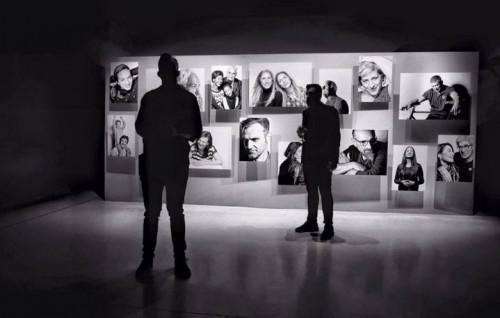 Un'immagine della mostra