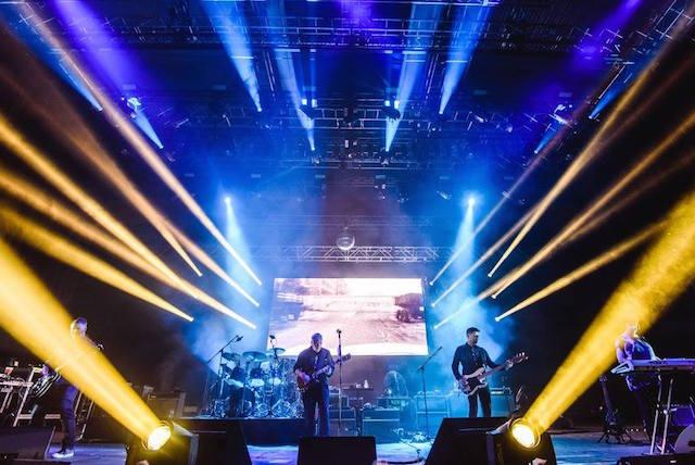 I New Order al Sónar 2016, foto Facebook