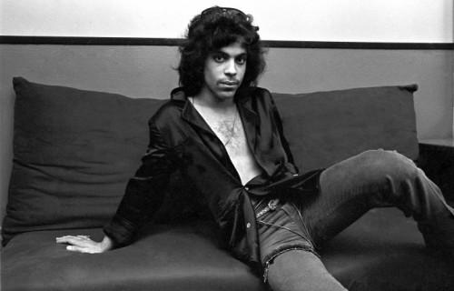 Prince Rogers Nelson nel suo backstage al The Bottom Line di Manhattan, New York, nel 1980 - Foto di Deborah Feingold/Corbis