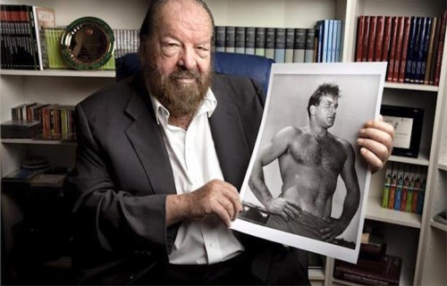 Carlo Pedersoli, in arte Bud Spencer, foto via Facebook