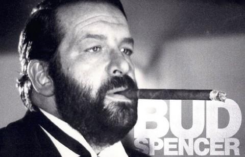 Bud Spencer sulla cover del suo album solista Futtetenne