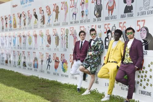 Pitti, Pitti Uomo, Pitti Uomo 2016, Firenze, moda, Fortezza, Laurina Paperina, Wall Of Fame, illustrazioni