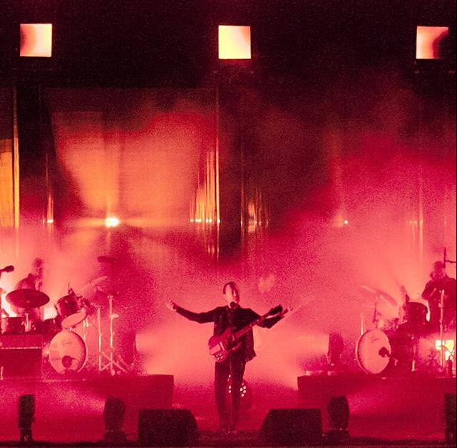 I Radiohead al Primavera Sound, foto di Eric Pamies