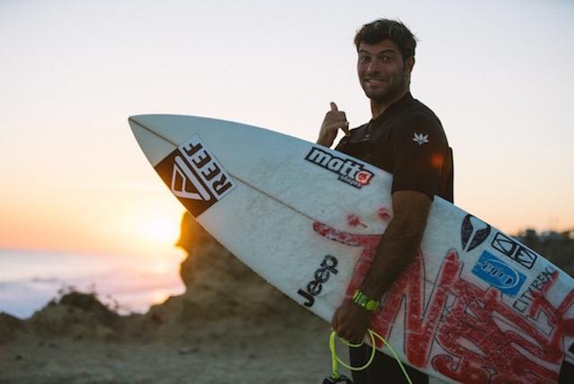 Roberto D'Amico durante i 3000 km