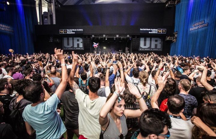 La performance di Underground Resistance sul Palco di Red Bull Music Academy al Sonar de dia