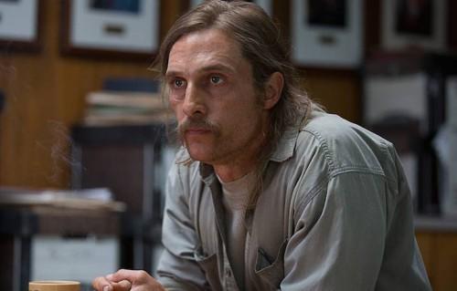 """McConaughey nei panni di Rust Cohle nella prima stagione di """"True Detective"""""""