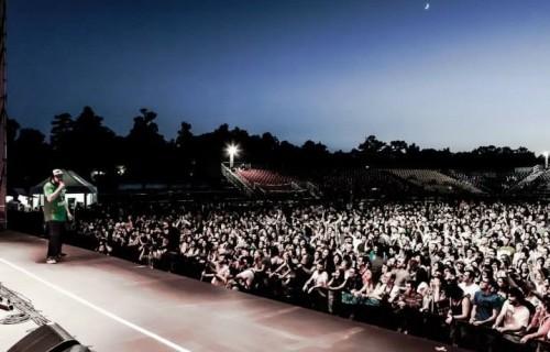 Il concerto per la giornata mondiale del Rifugiato nel 2015, foto di Veronica Croccia