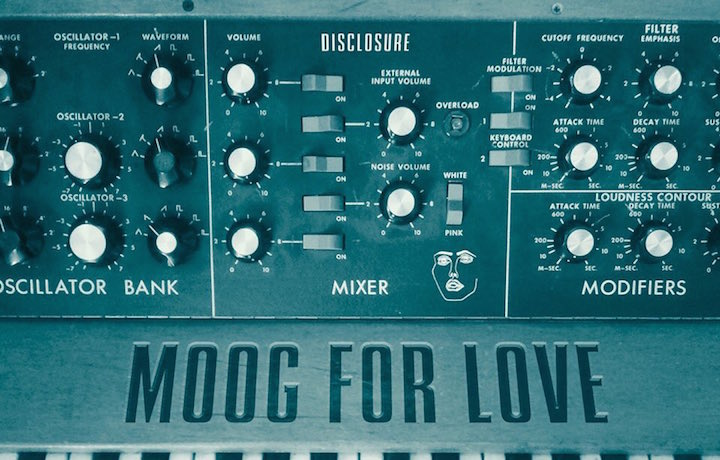 "La cover art di ""Moog for Love"""
