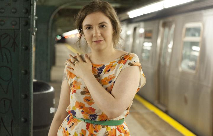 """Lena Dunham è creatrice di """"Girls"""", negli Stati Uniti è appena finita la quinta stagione"""