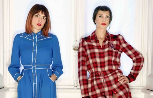 """""""Les Italiennes"""", il duo formato da Alessandra Contini e Daniela Chiara"""