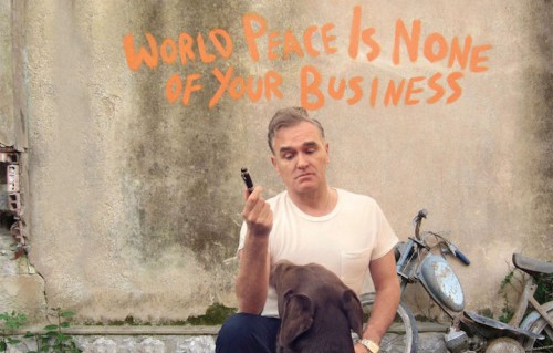 "Morrissey sulla cover di ""World peace is none of your business"""