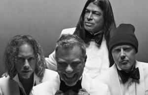 I Metallica in uno scatto della nuova campagna realizzata da Zackery Michael