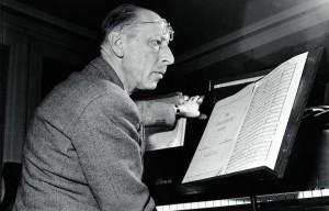 Igor Stravinskij è scomparso il 6 aprile 1971 a New York