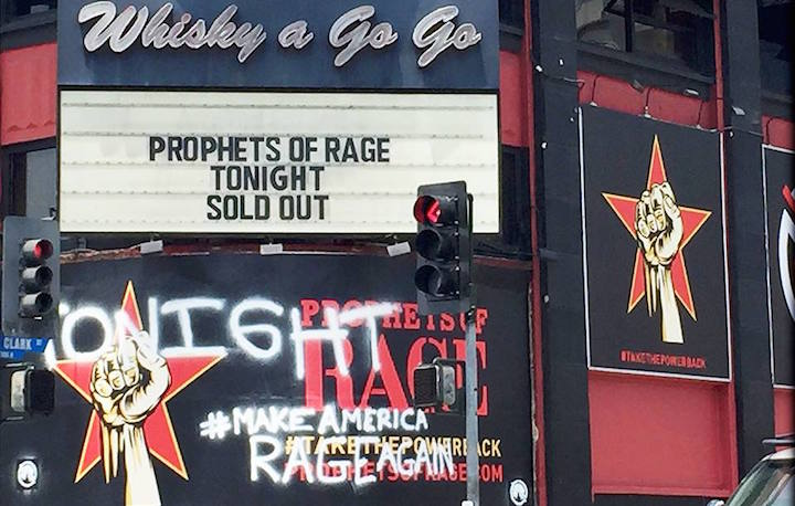 Ieri sera c'è stato il primo concerto dei Prophets of Rage