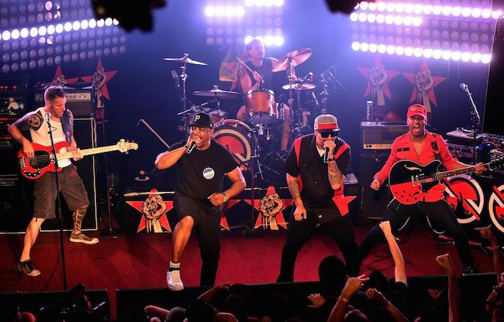 I Prophets of Rage live, via facebook.com/TheProphetsofRage