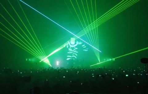 Chemical Brothers live, foto dalla pagina Facebook della band