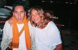 Marta Marzotto e Franco Battiato. Foto Facebook ufficiale