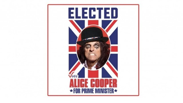 "La cover di ""Elected"" di Alice Cooper"