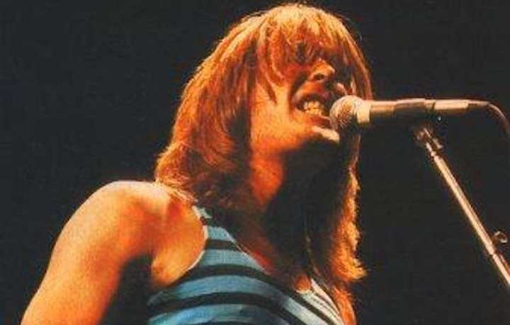 "Cliff Williams nel 1981 durante il tour di ""For Those About to Rock"" degli AC/DC"