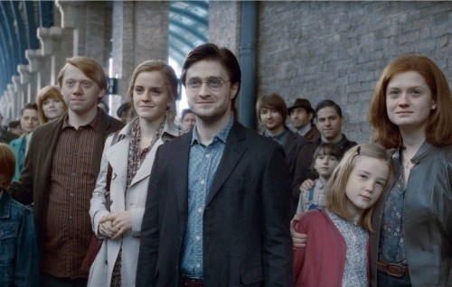 """Una scena da """"Harry Potter e i Doni della Morte"""""""