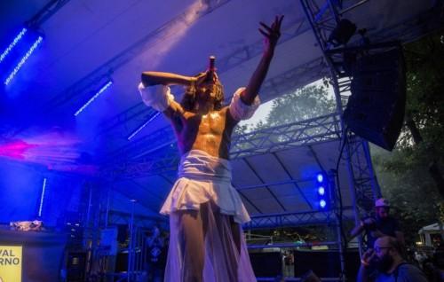 Mykki Blanco al Festival Moderno il 7 luglio 2016 al Circolo Magnolia di Milano - Foto di Ikka Mirabelli