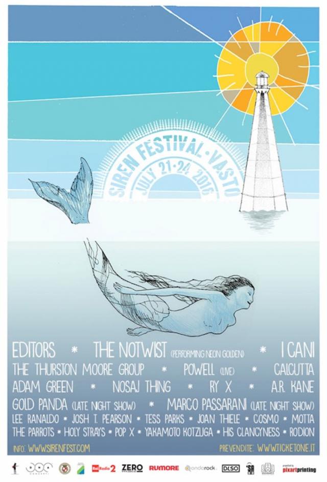 Dal 21-24 luglio il Siren Festival accende Vasto, in Abruzzo, provincia di Chieti