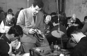 Salvatore Ferragamo, fondatore dell'omonima casa di moda