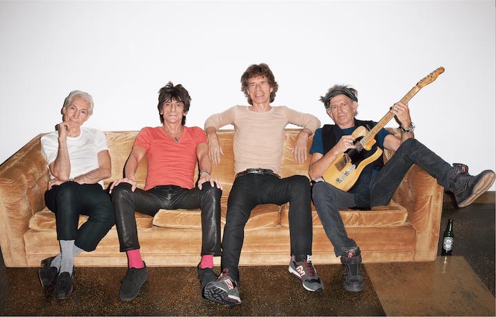 I Rolling Stones nel 2013, foto di Terry Richardson